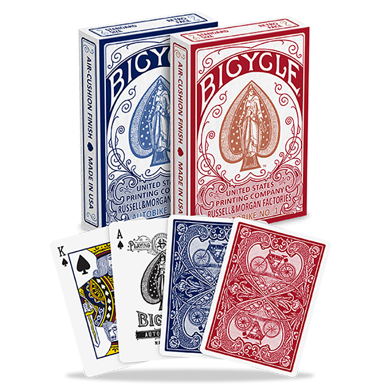 Bicycle - Autobike No. 1 Playing Cards