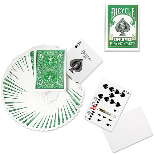 Bicycle - Poker deck - Green back