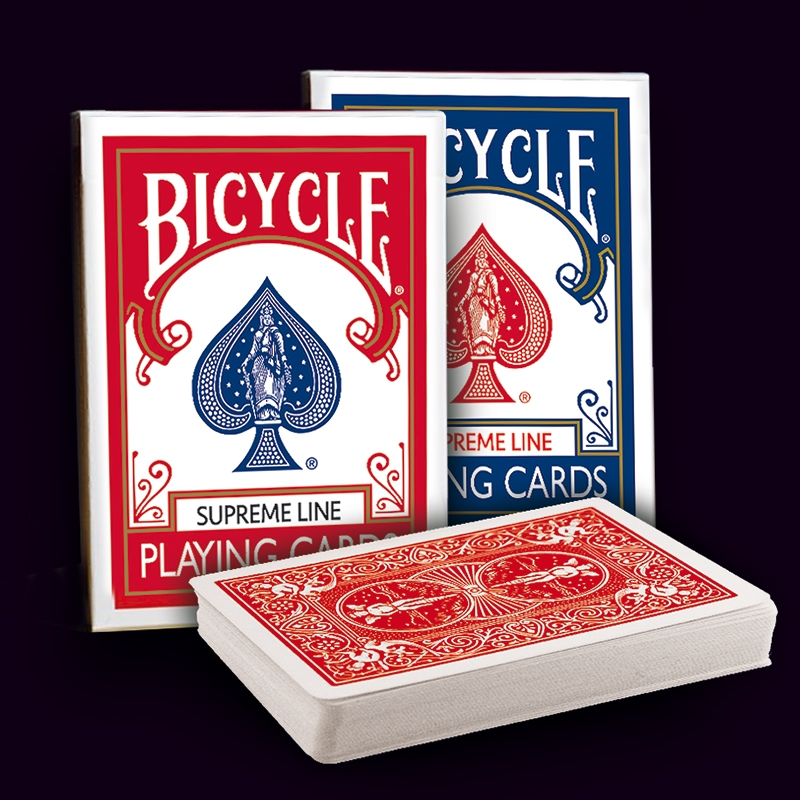 Bicycle - Poker deck - rider back - Supreme Line BLUE - ΝΕΑ ΚΥΚΛΟΦΟΡΙΑ