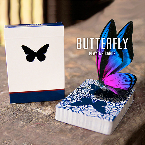 Butterfly Playing Cards Marked (Blue) ΣΗΜΑΔΕΜΕΝΗ