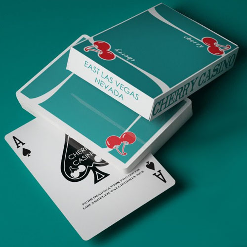 Cherry V3 Playing Cards