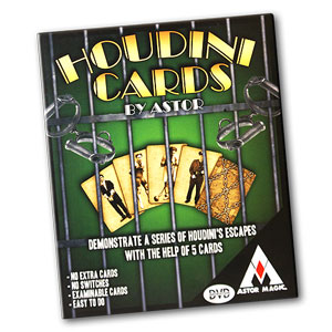 Houdini cards by Astor