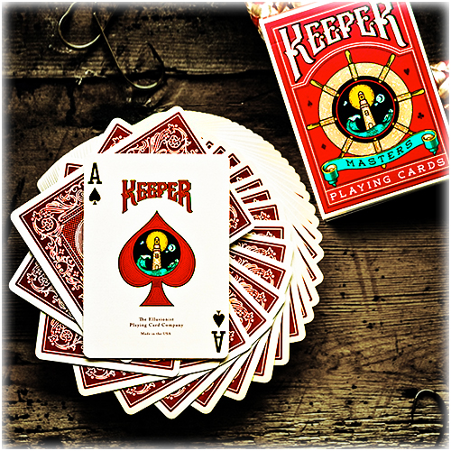 Keeper Deck - Red (ΣΗΜΑΔΕΜΕΝΗ)