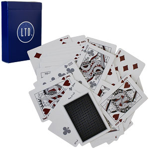 LTD playing cards by Ellusionist - Blue