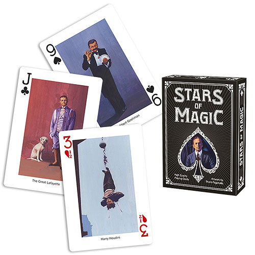 Stars of magic deck - Black