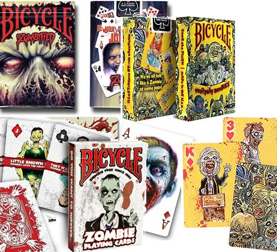 The 3 ZOMBIE deck Collection !